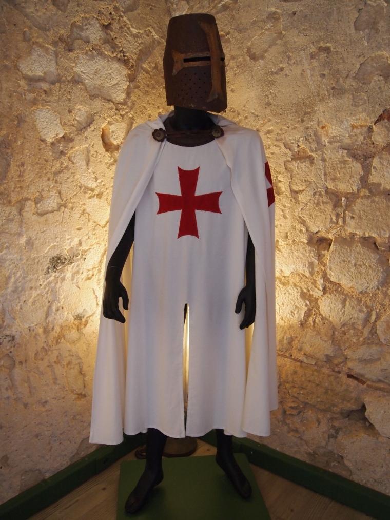 crusader inside the museum