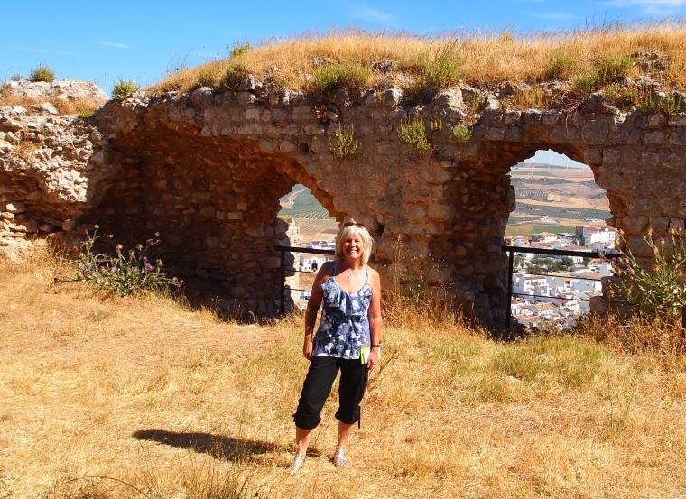 me at Castillo de Teba