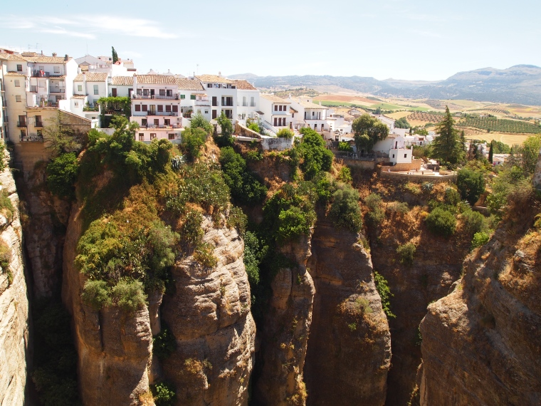 Ronda on the cliffs of the Tajo Gorge