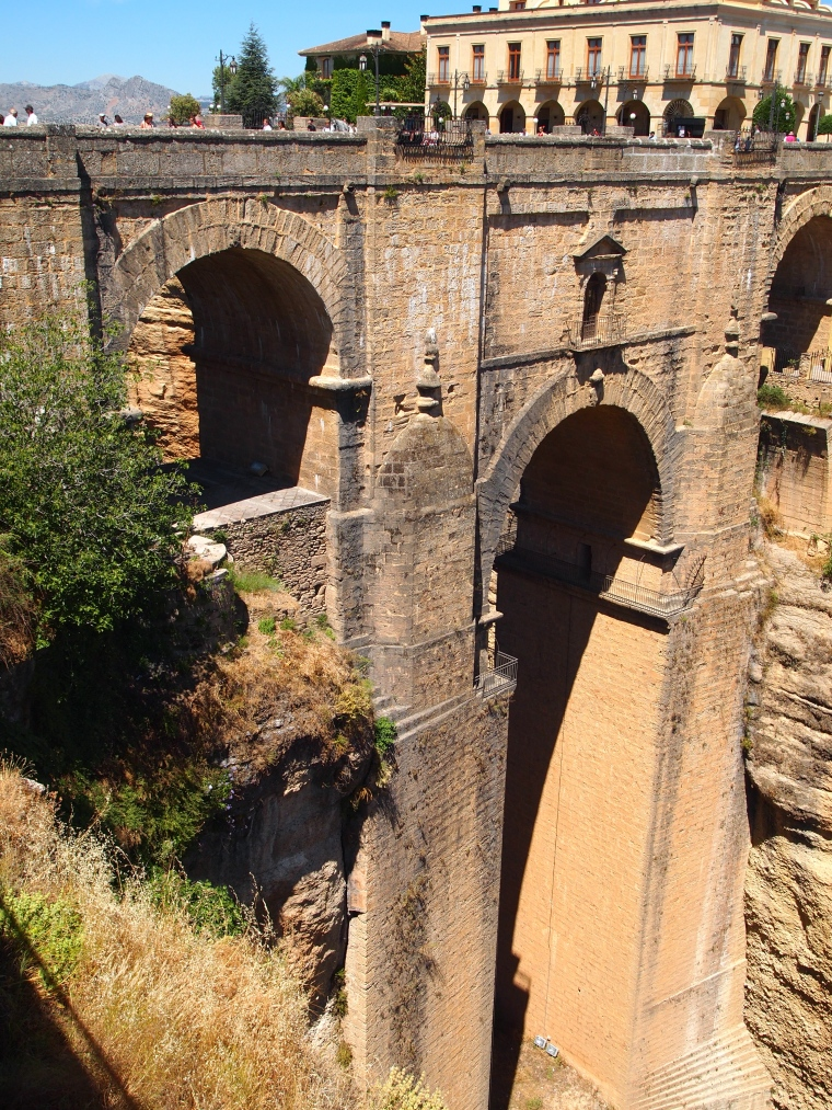 the New Bridge in Ronda