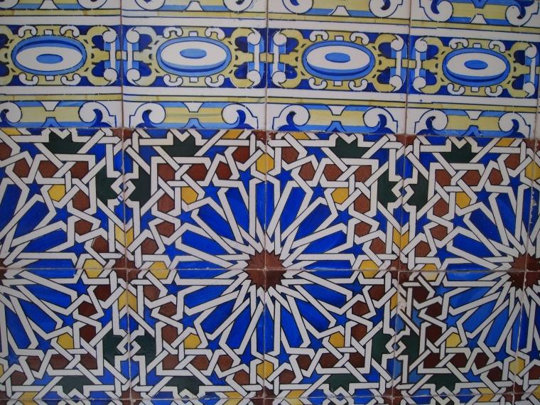 Mosaics in Ronda