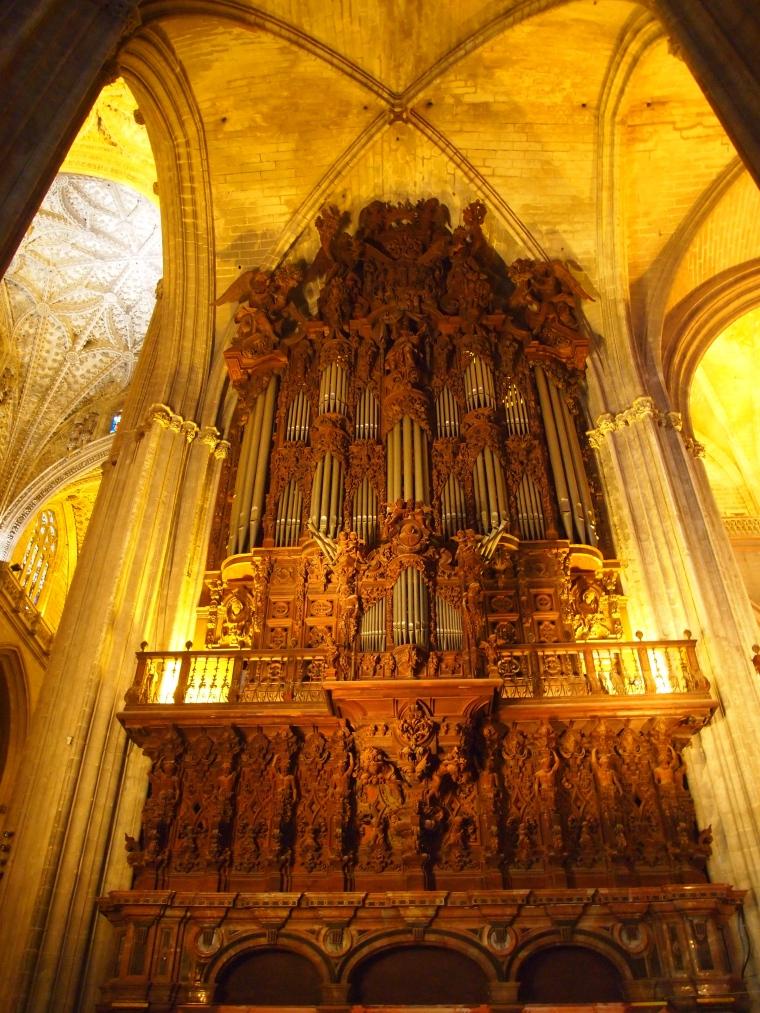 Organ at Seville Cathedral
