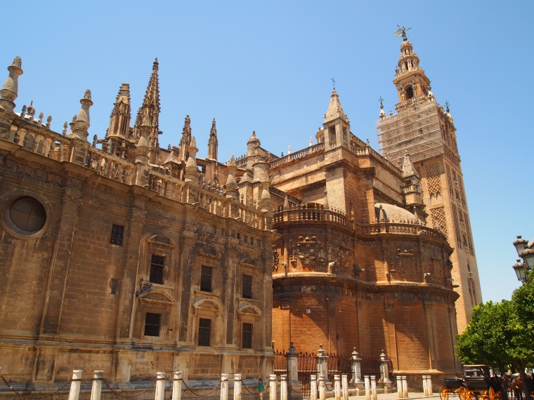 Seville Cathedral from outside