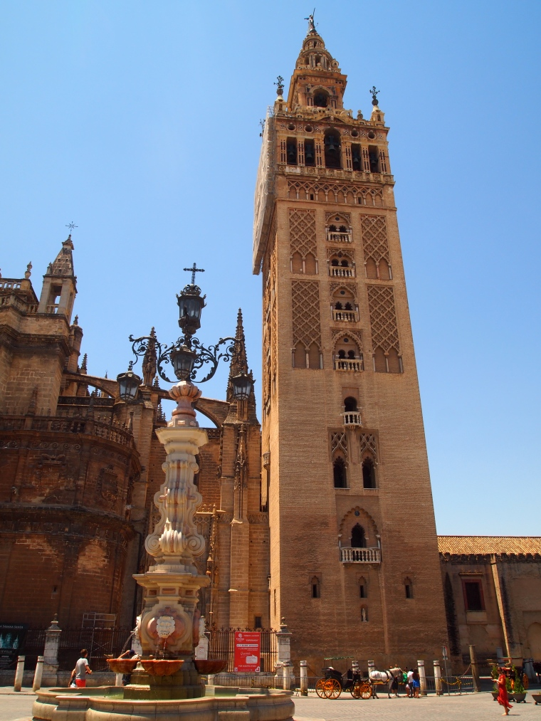Giralda Tower from outside