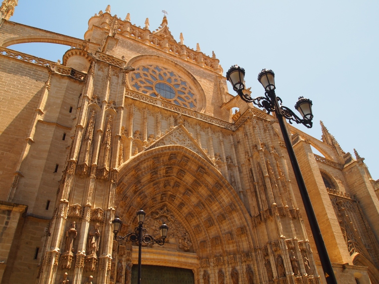 another unused entrance to Seville Cathedral