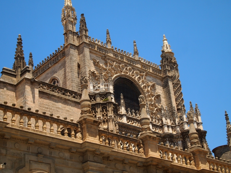 Another bit of Seville Cathedral