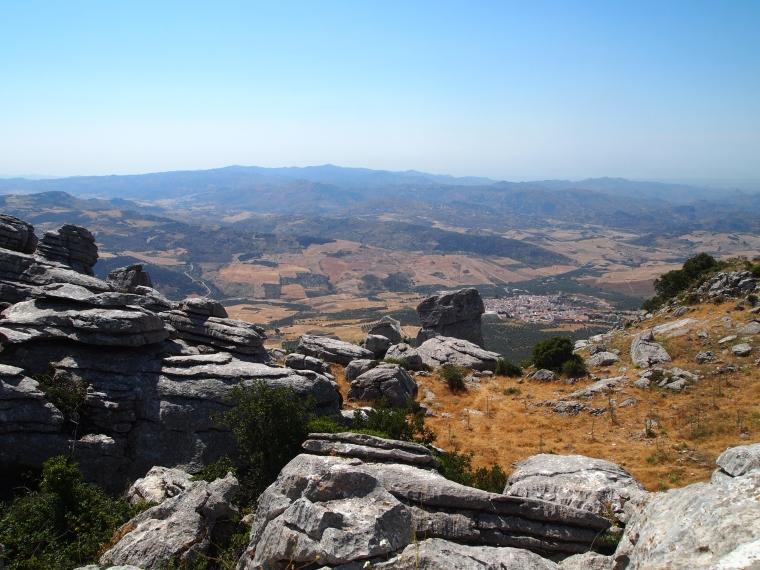 viewpoint toward Malaga