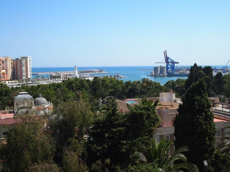 the port of Malaga