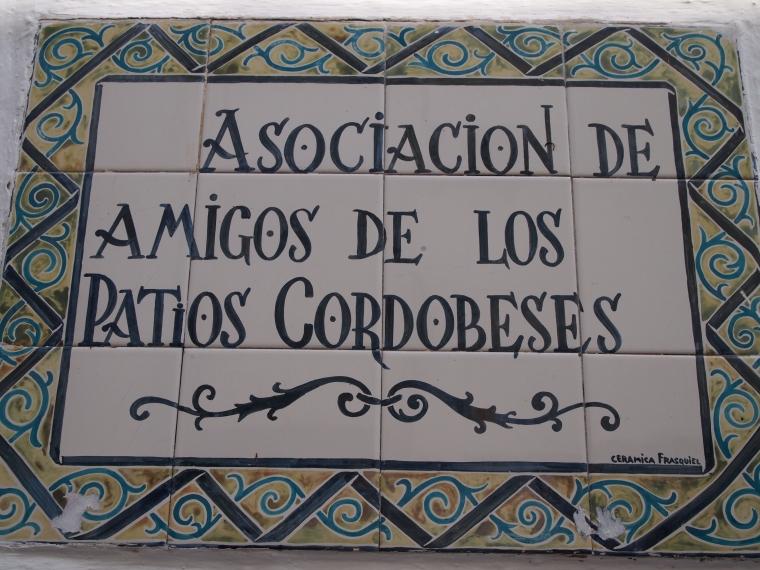 Asociacion de amigos de los Patios Cordobeses (Association of Friends of the Cordoban Patios?)