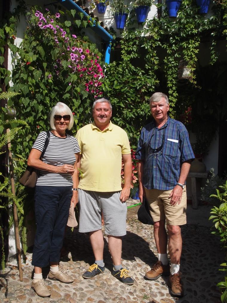 Carole, Scottish Barry and Australian Barry