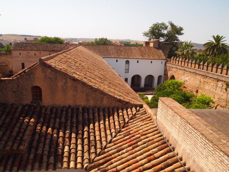 rooftops in the Alcázar de los Reyes Cristianos