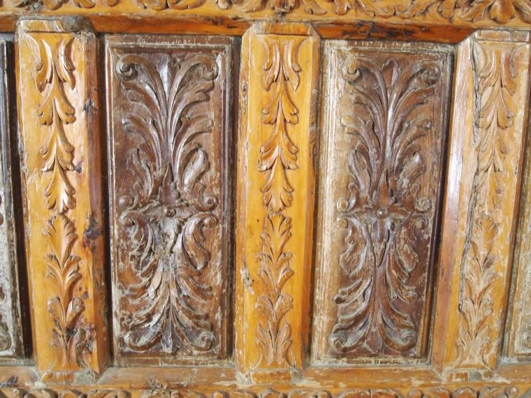 carved woodwork