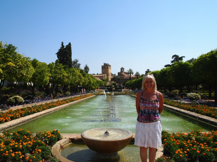 me at the Alcázar de los Reyes Cristianos