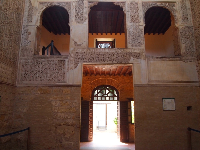 the ladies' prayer hall is on the second level