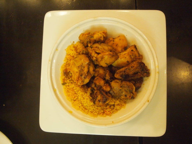 Al-Andalus chicken tagine