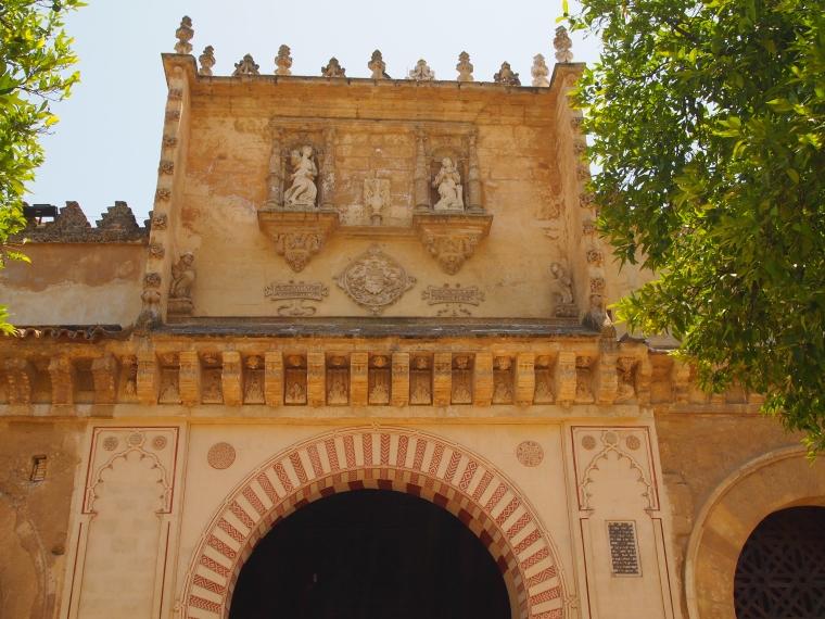 entrance into the mosque