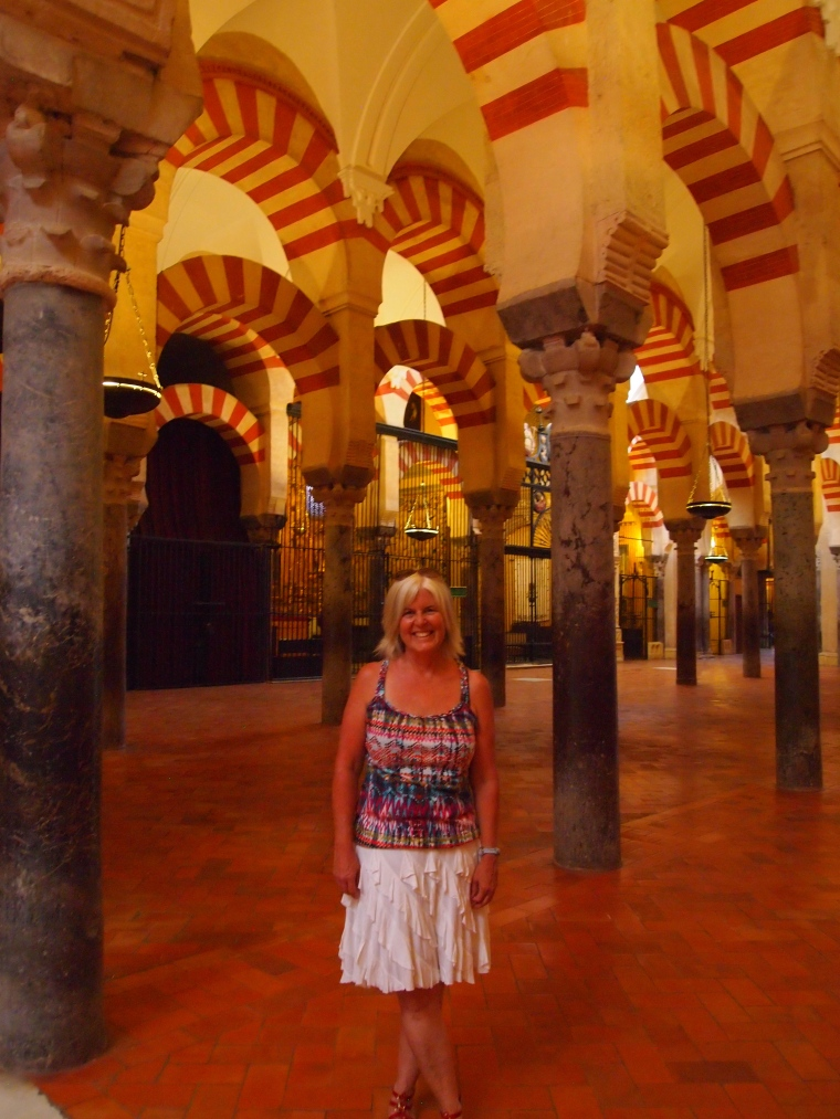 me in the Mezquita