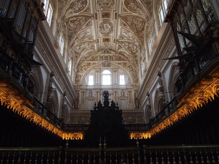 beatiful coffered ceilings