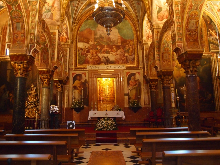 the main altarpiece of the Cathedral