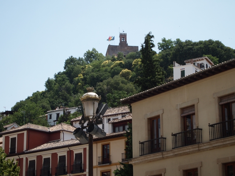first views of the Alhambra
