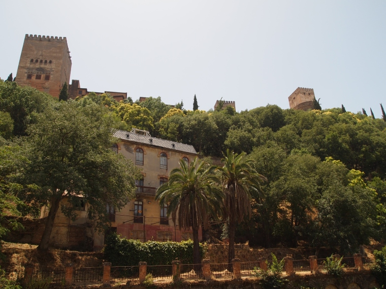 views of the Alhambra