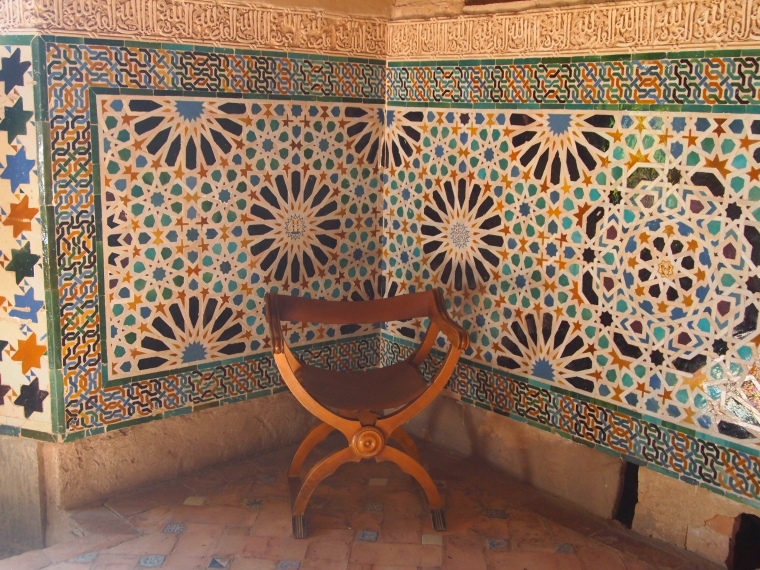first glimpse inside the Nasrid Palaces