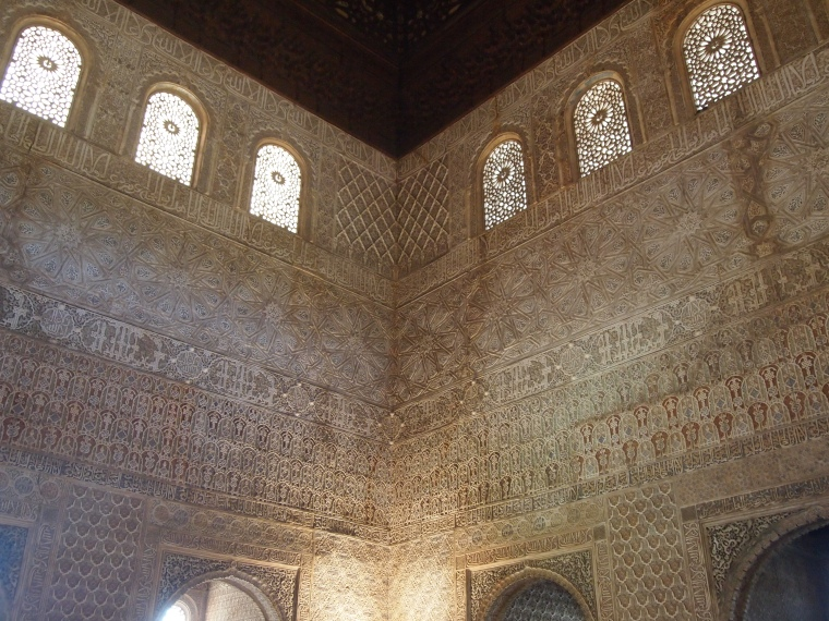 intricate decoration on every surface
