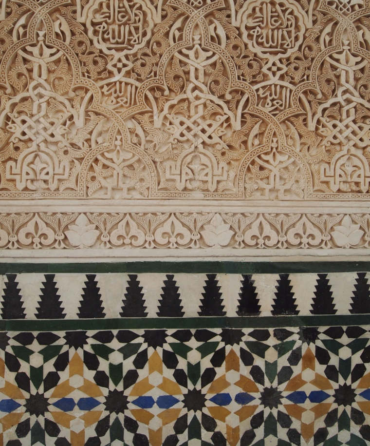 the Nasrid Palaces of the Alhambra