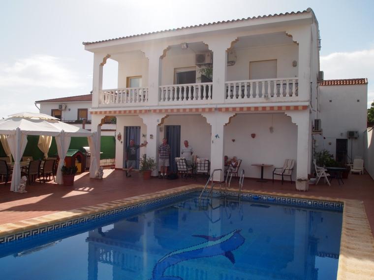 La Puerta del Sol ~ our villa in Mollina