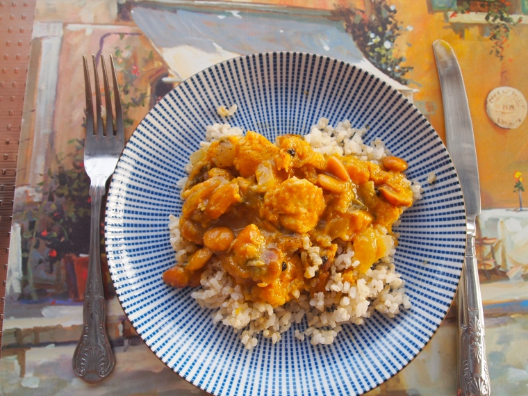 Marianne's special chicken and rice recipe: delicious!