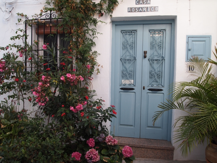 pretty entryway in Frigiliana