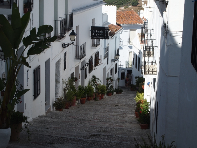 Calle Alta in Frigiliana