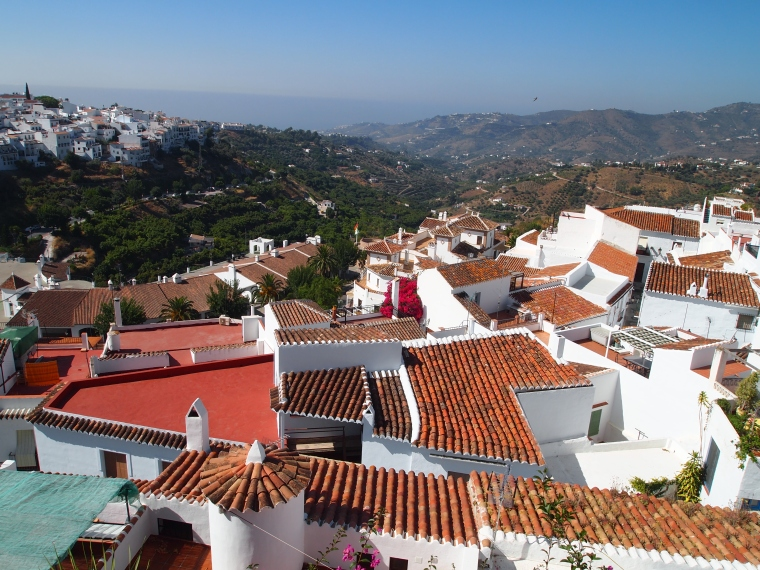 rooftops of Frigiliana