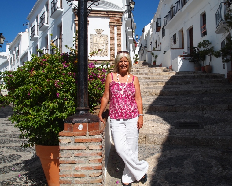 me in Frigiliana