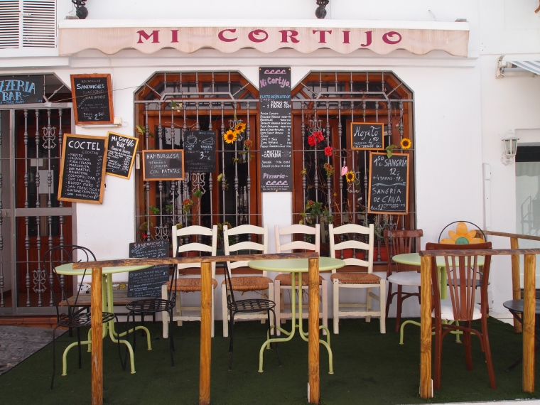Frigiliana cafe