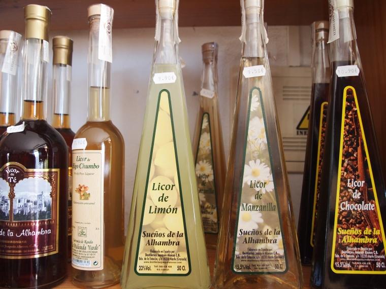 dressings in pretty bottles
