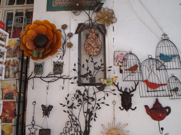 wall art in Frigiliana
