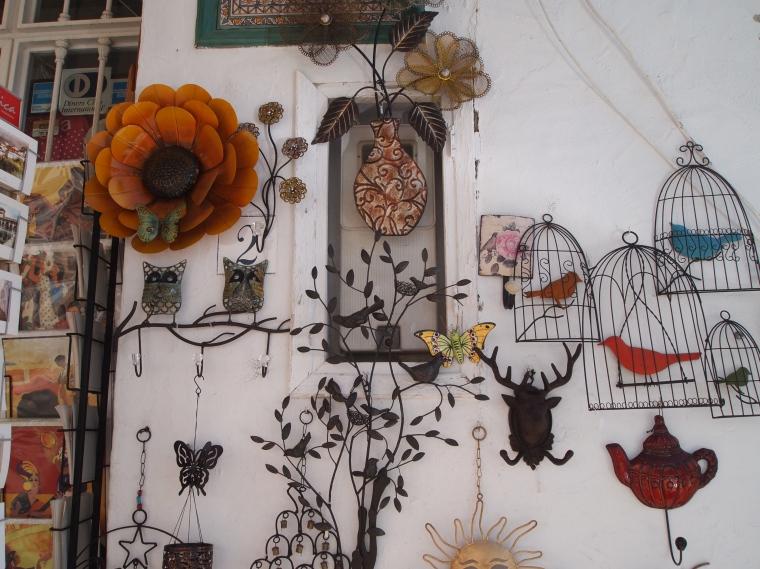 wall art in Frigiliana