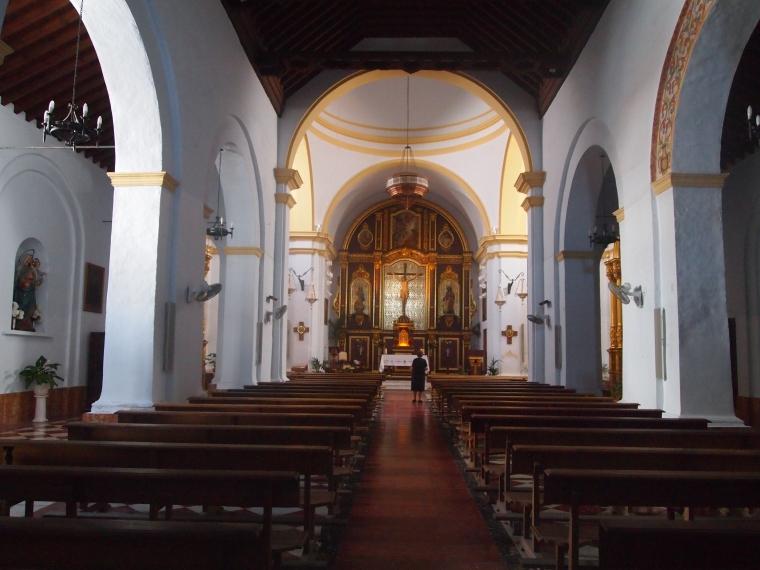 church in Frigiliana