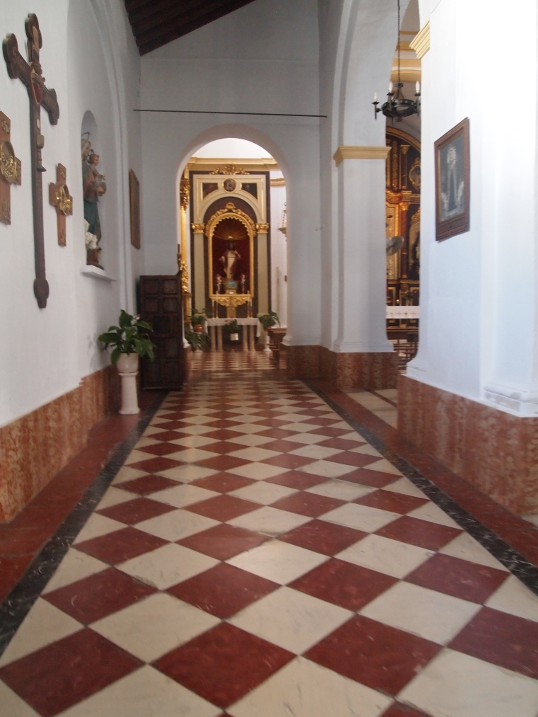 church in Frigiliana