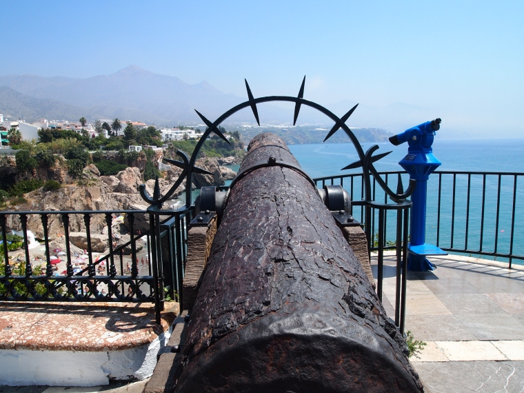 a cannon left from past
