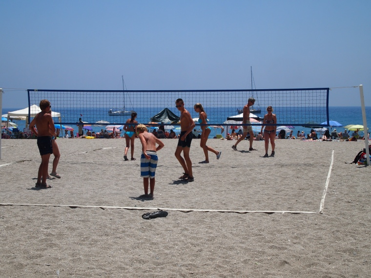 beach volleyball :-)
