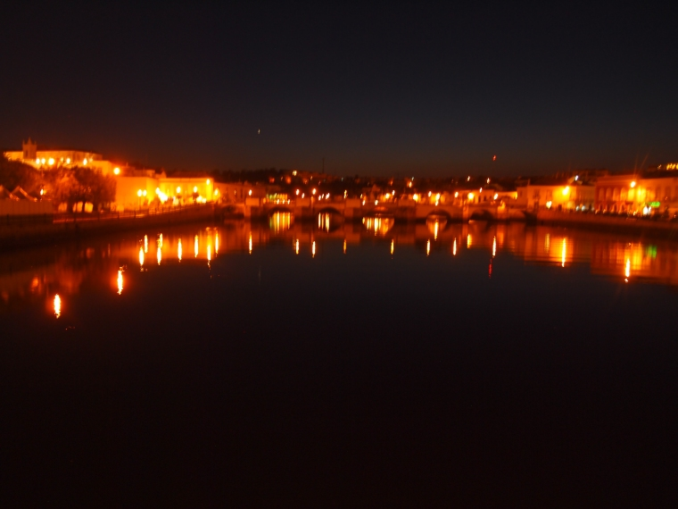 The River Gilão in Tavira