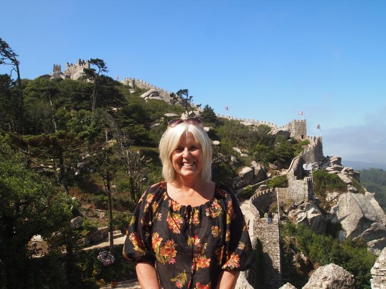 me at Castelo dos Mouros