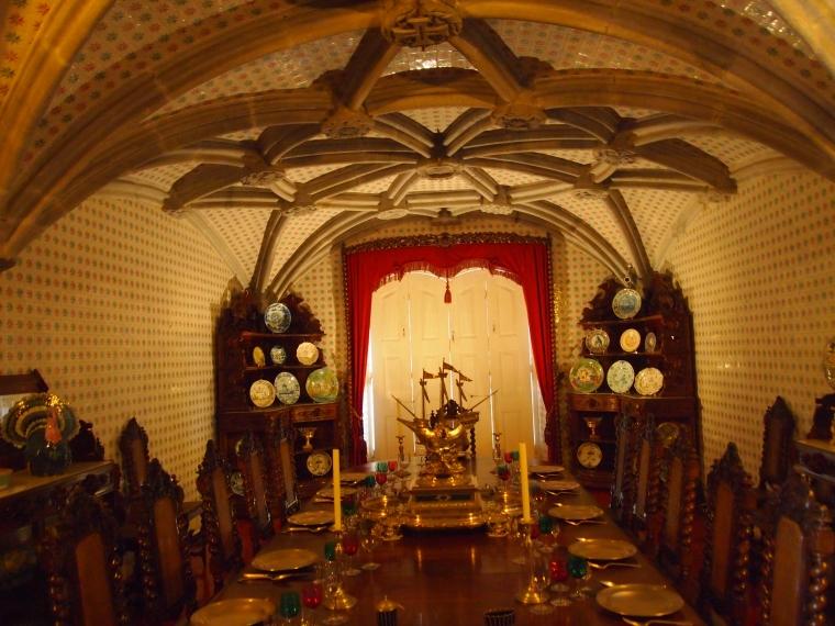 inside Palácio Nacional da Pena