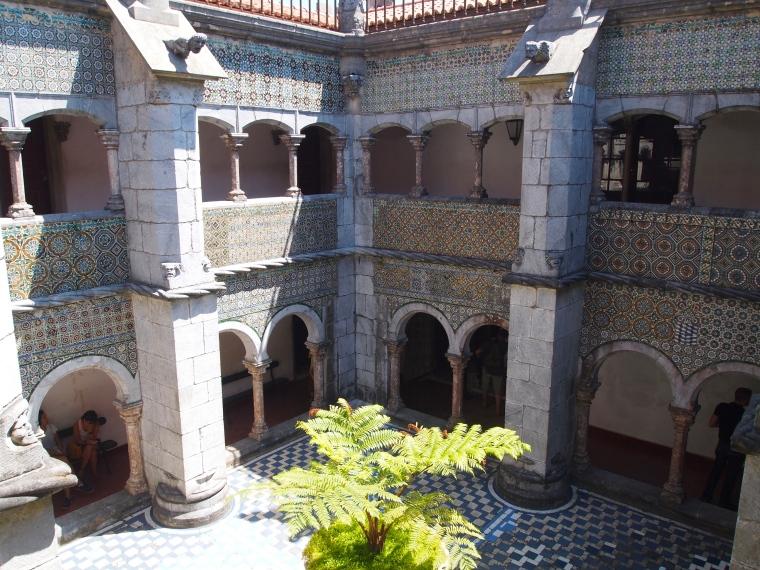 Cloister at Palácio Nacional da Pena