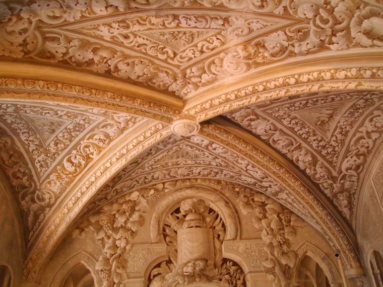 ceiling at Palácio Nacional da Pena