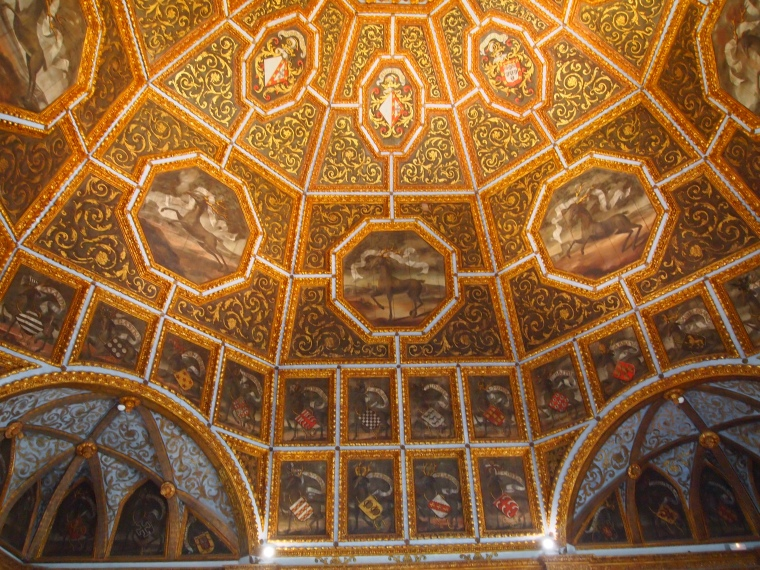Ceilings in the National Palace, Sintra