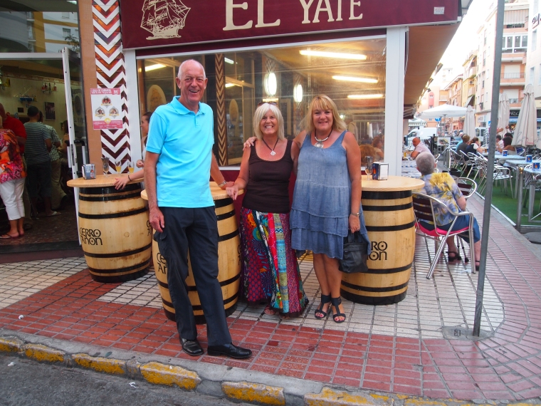 Michael, me and Marianne at Al Yate