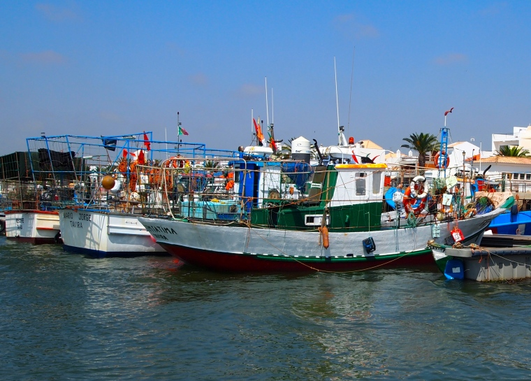 more colorful fishing boats